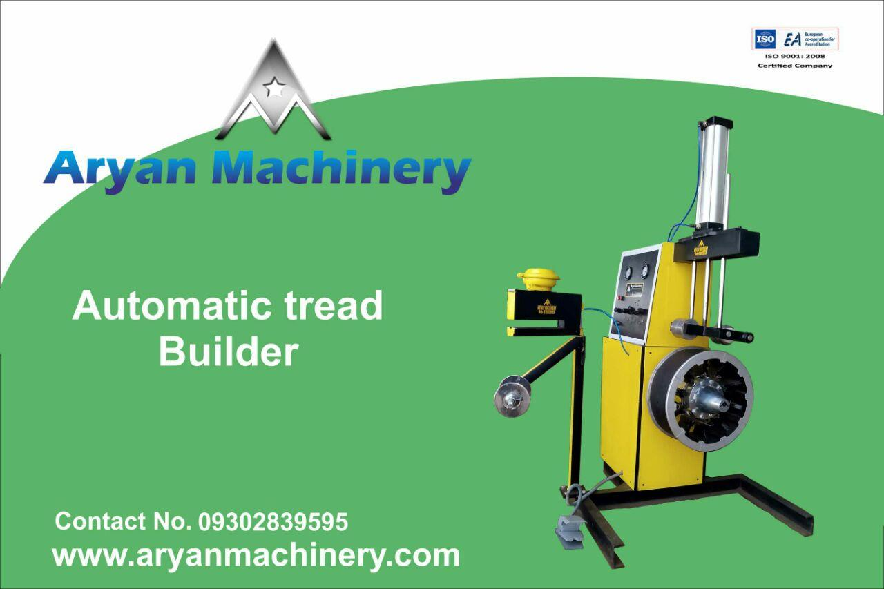 Tread Builder Machine